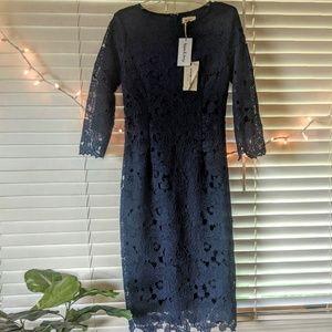 NWT Wren & Ivory Navy Lace Dress